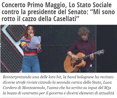 "(screeenshot da ""il Fatto Quotidiano"")"
