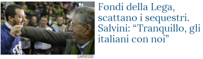 "screenshot da ""La Stampa"""